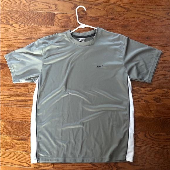 nike shirt material